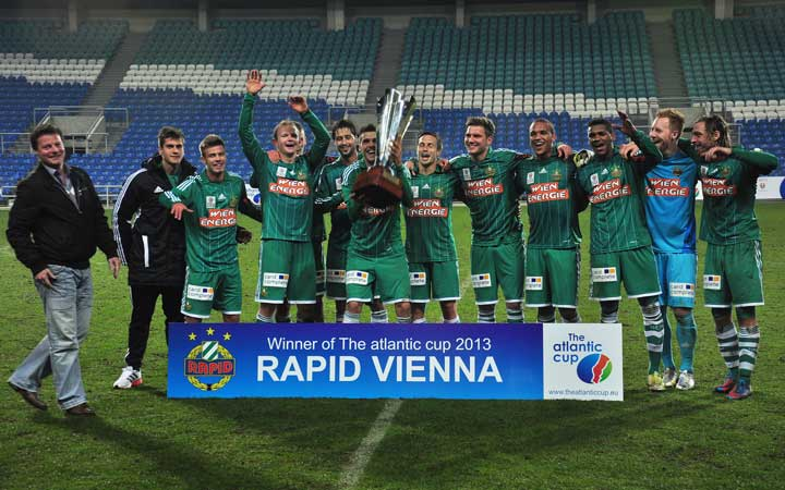 Winners of The Atlantic Cup 2013, SK Rapid Vienna